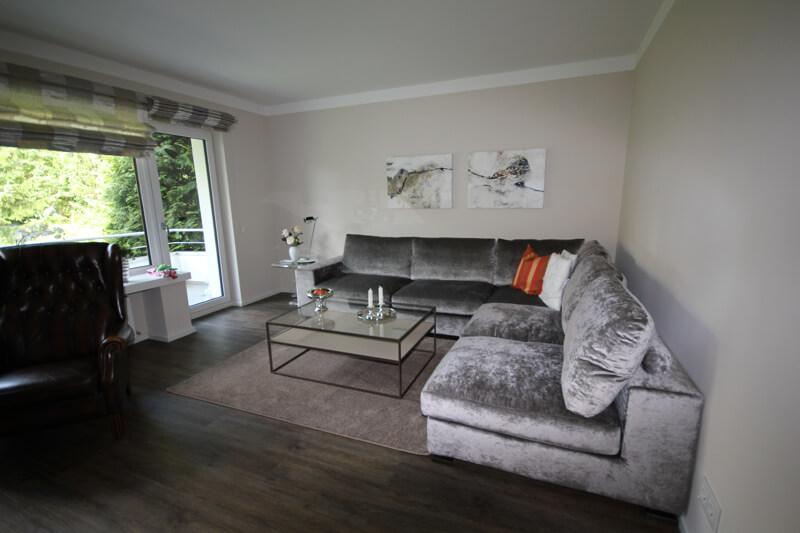 Wohnzimmer mit Vinylboden